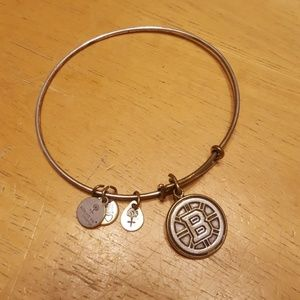 Alex and ani boston bruins bangle bracelet